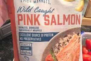 Aldi (Fresh Oreganoed Salmon)