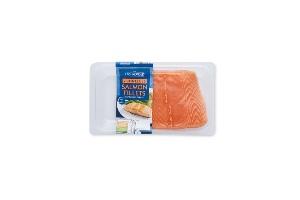 Aldi (Fresh Mushroomed Salmon)