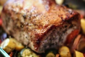Zucchinied Pork Tenderlion (Fresh 20)