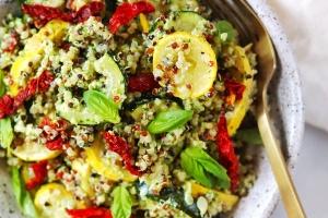 Zucchini Quinoa (The Fresh 20)