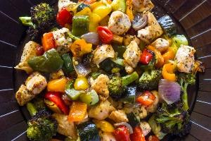 Zucchini Roasted Chicken (Fresh 20)