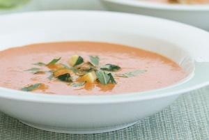 Zucchinied Fresh Tomato Soup (Food.Com)