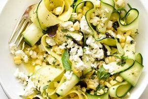 Zucchini Vinegarette (Homemade)