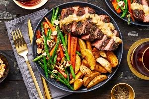 Zucchinied Sirlion Steak (Hello Fresh)