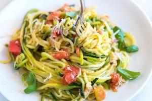 Zucchinied Pasta (Fresh Idea)