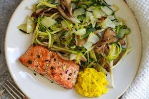 Zucchini Salmon (Lean Cuisine)