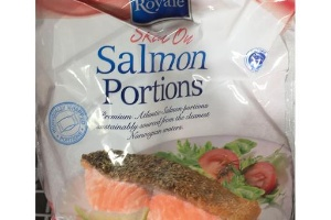 aldi - fresh grana padano cheeseed salmon
