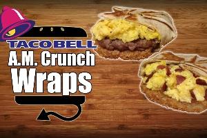 A.M. Crunchwrap Sausage