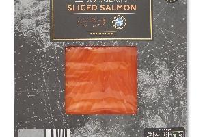 aldi - fresh emmental cheeseed salmon