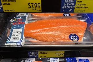 aldi - fresh blenda cheeseed salmon
