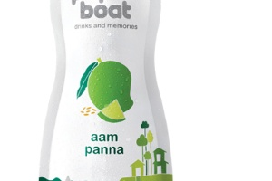 Aam panna, drink, paperboat
