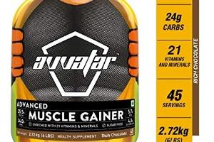 Advance muscle gainer, avvatar