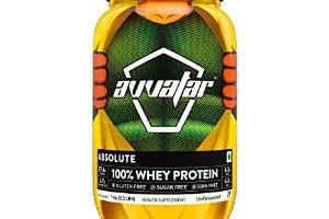 Absolute raw unflavoured whey protein, avvatar