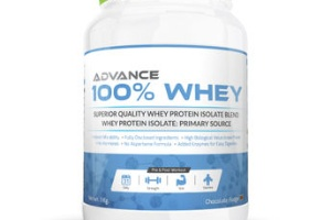 Advance 100% whey protein chocolate fudge, advance nutratech