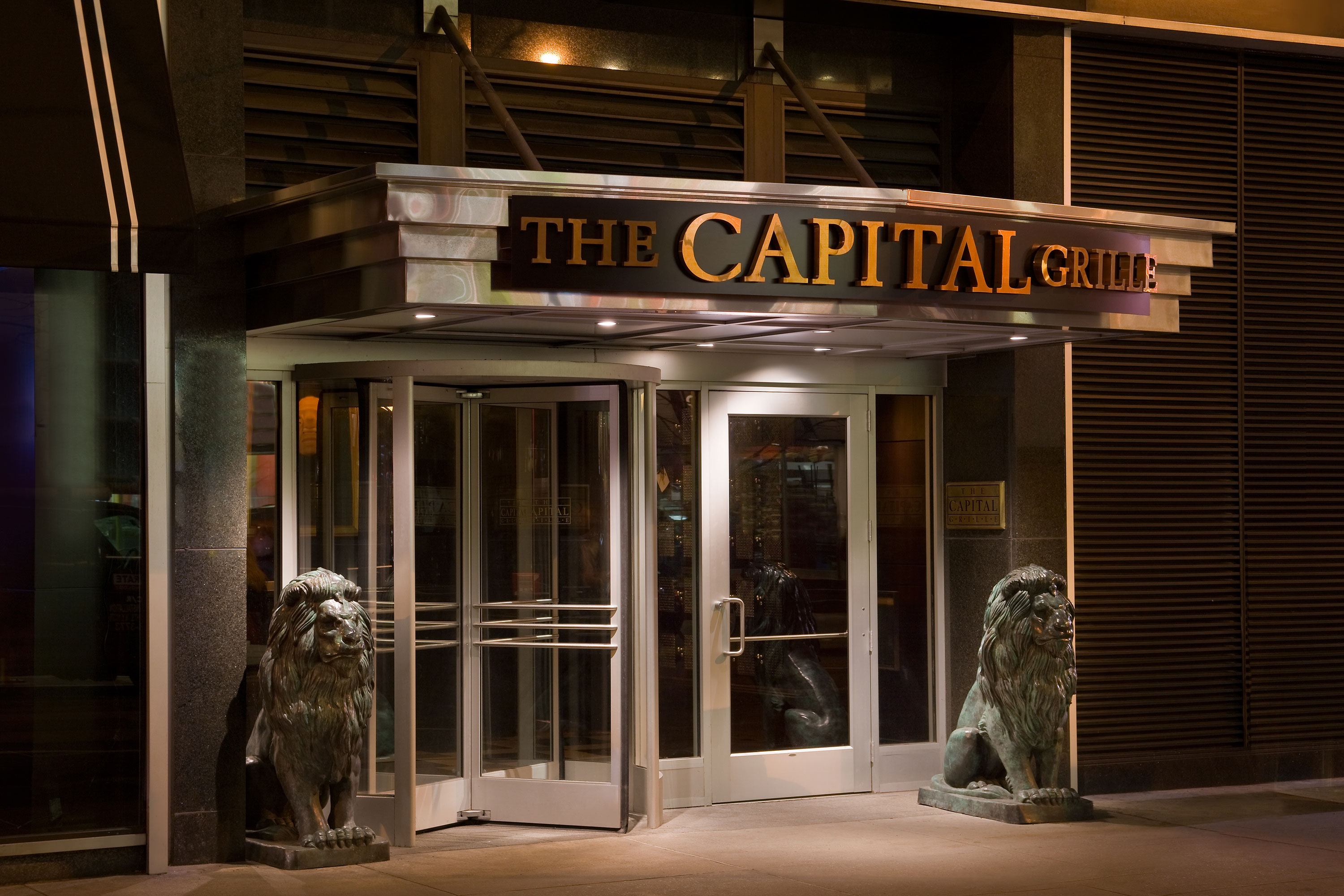 The Capital Grille (Midtown West) New York | Members receive a complimentary champagne toast and ...