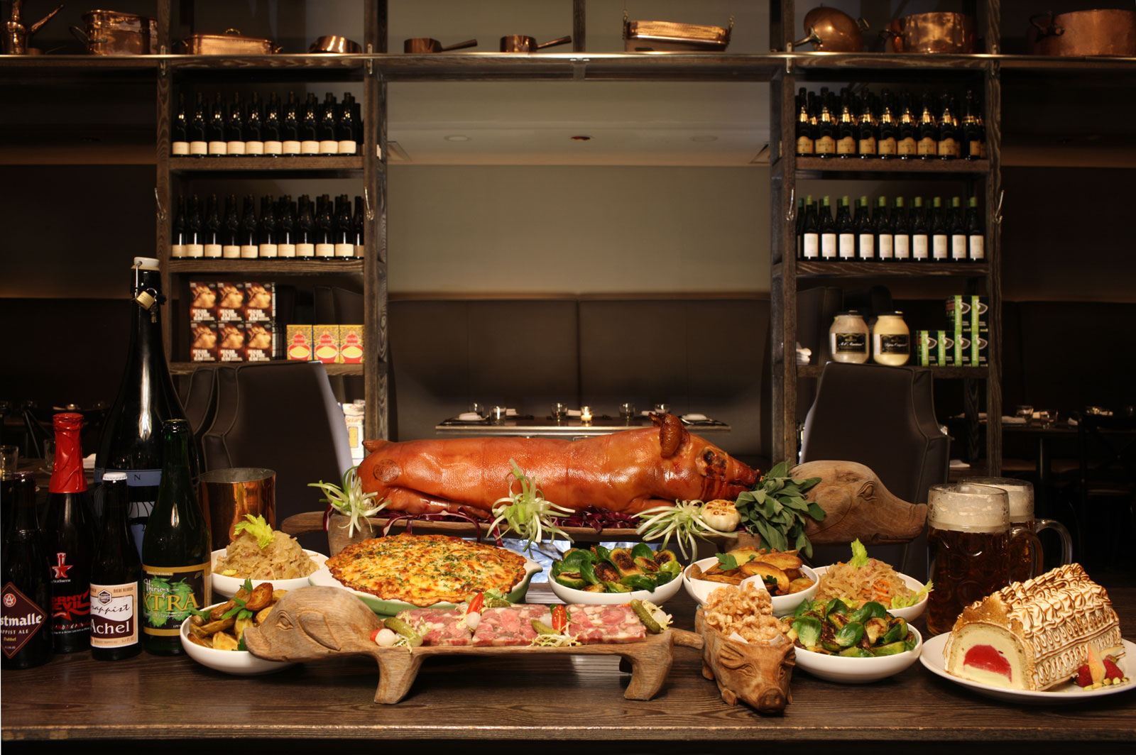 Dbgb Kitchen Bar New York Members Receive A Complimentary  # Buffet Blanc Style New York
