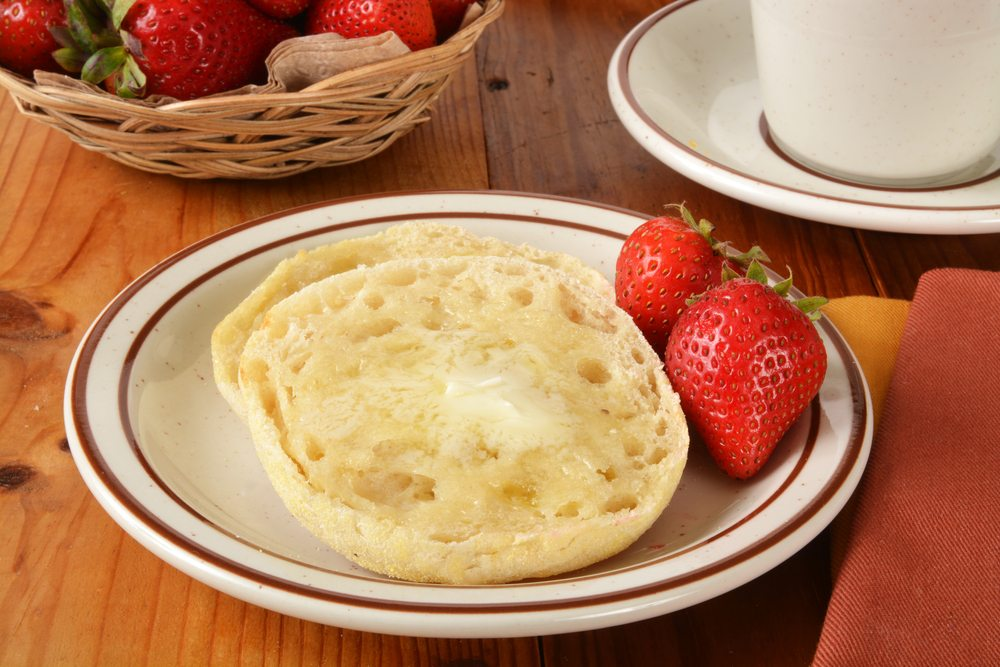 english muffin butter