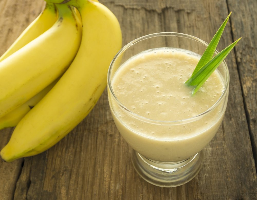 fruit smoothie banana