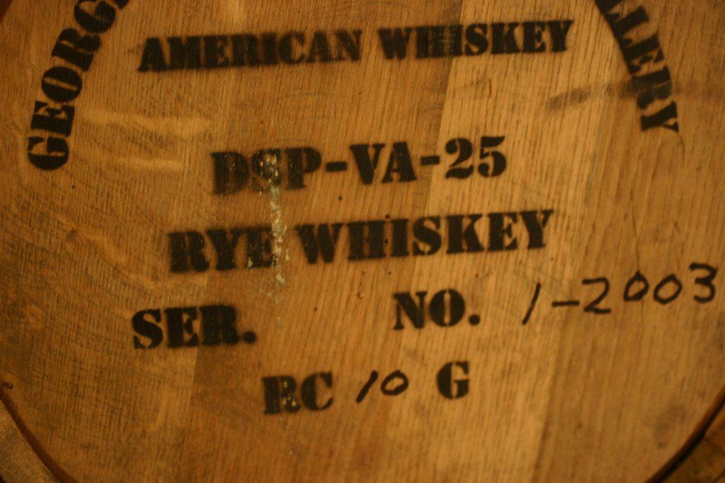 rye whiskey barrel