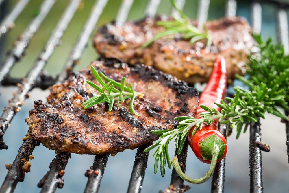 rosemary chilli pepper steak