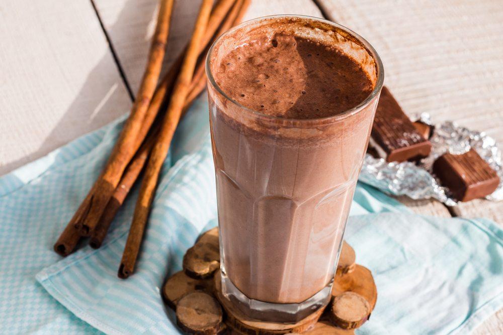 chocolate cinnamon smoothie