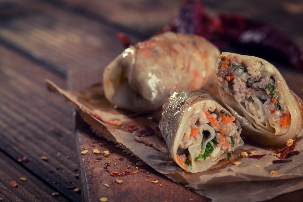 cabbage beef roll