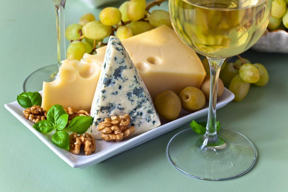 white wine cheese