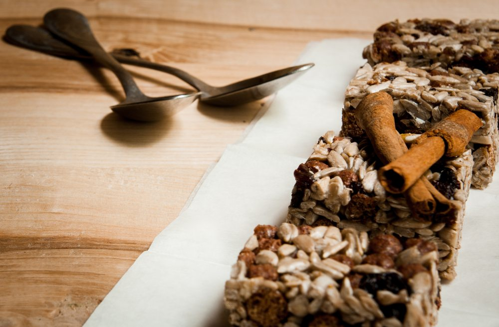 raw granola bar