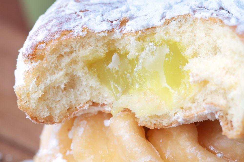 lemon doughnut