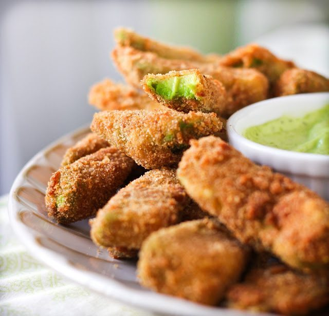 avocado fries cilantro lemon adventures cooking