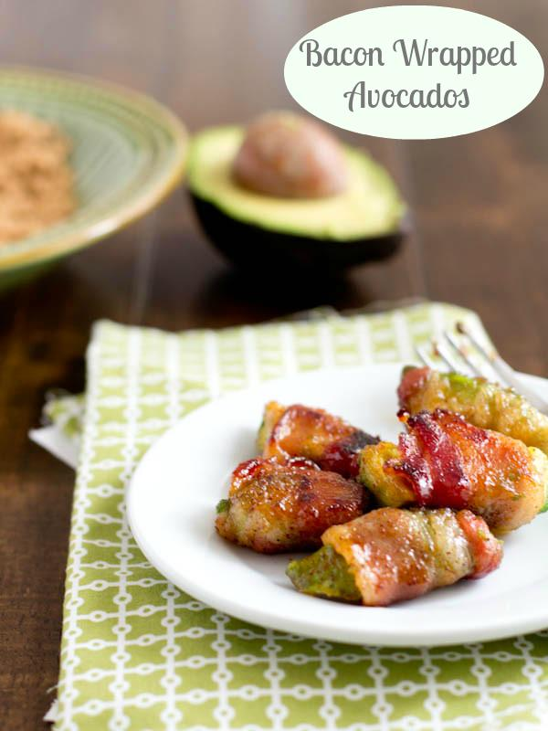 bacon wrapped avocados sweet basil