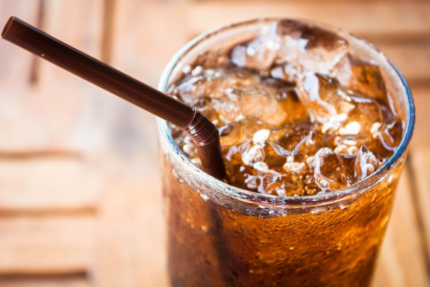 Cola in a Glass
