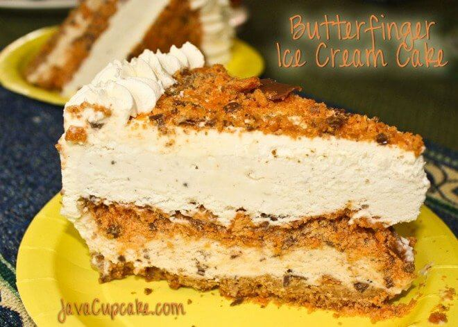 butterfinger ice cream cake