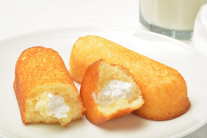 Cream filled snack cakes