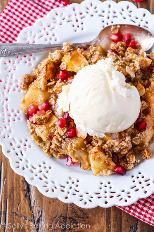 Gluten-Free Apple Crisp with Almond Meal