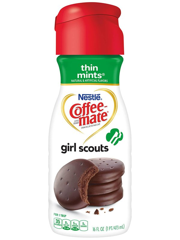 Coffee Mate Girl Scouts Thin Mints Creamer
