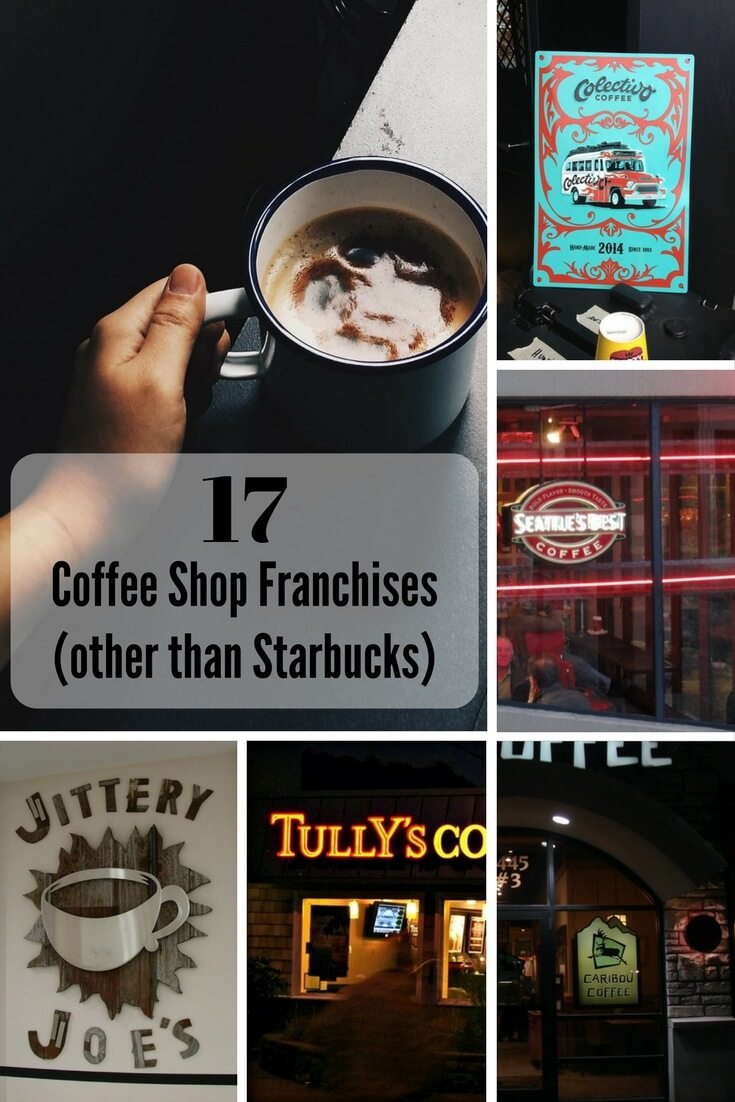 17 Coffee Shop Franchises Other Than Starbucks on FoodForNet.com