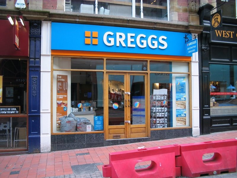 Greggs coffee uk
