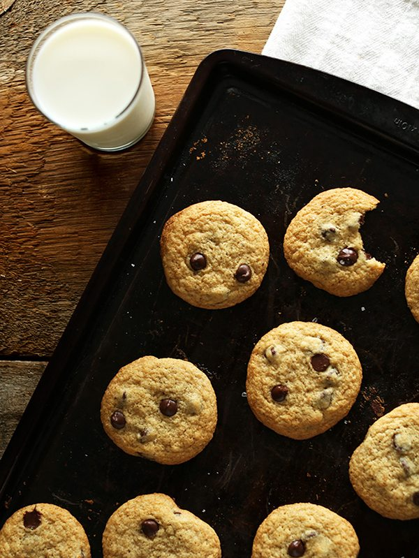 Pancake-Based Chocolate Chip Cookies from the Minimalist Baker