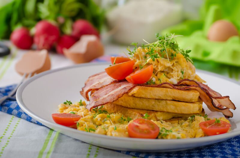 Garden Scrambled Eggs