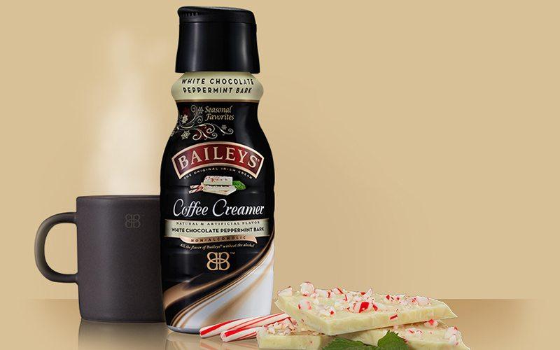 Bailey's White Chocolate Peppermint Bark Creamer