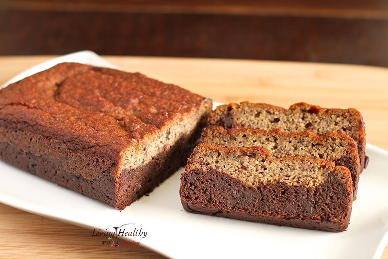 Black Bottom Banana Bread