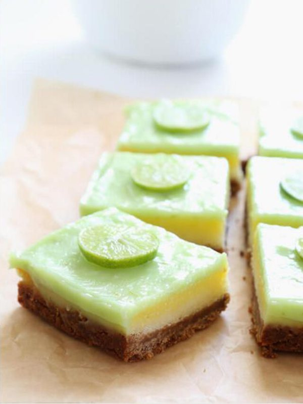 Key Lime Pie Bars with a Better Batter Crust