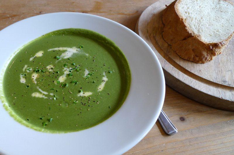 Green & Lean Spinach & Leek Soup