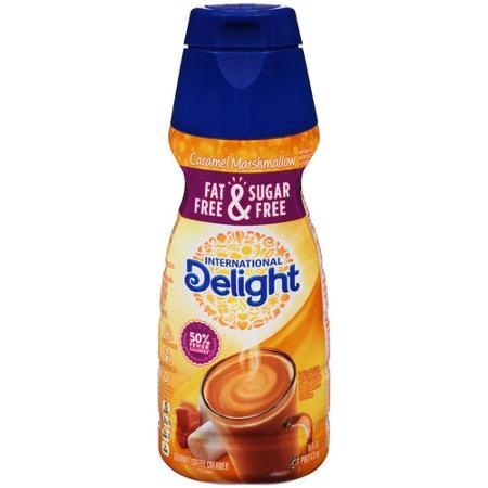 International Delight Fat-Free & Sugar-Free Caramel Marshmallow Creamer