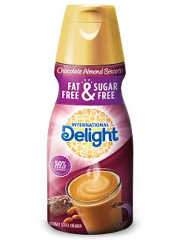 International Delight Fat-Free & Sugar-Free Chocolate Almond Biscotti Creamer