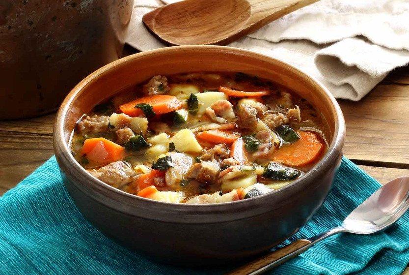 Paleo Italian Sausage and Potato Soup
