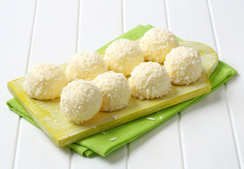 Pineapple Coconut Snowball Cookies