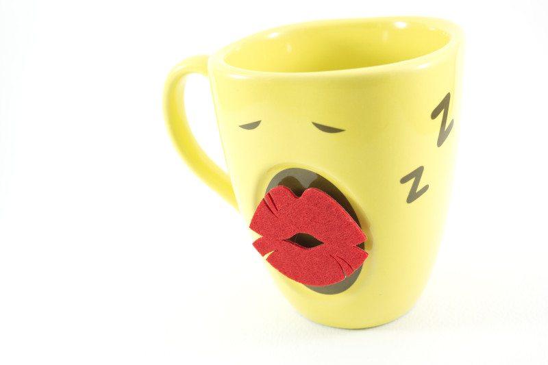Funny Coffee Mug Stock Image