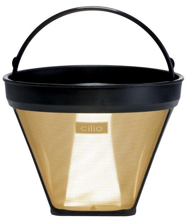 24 Karat Gold Plated Reusable Coffee Filter